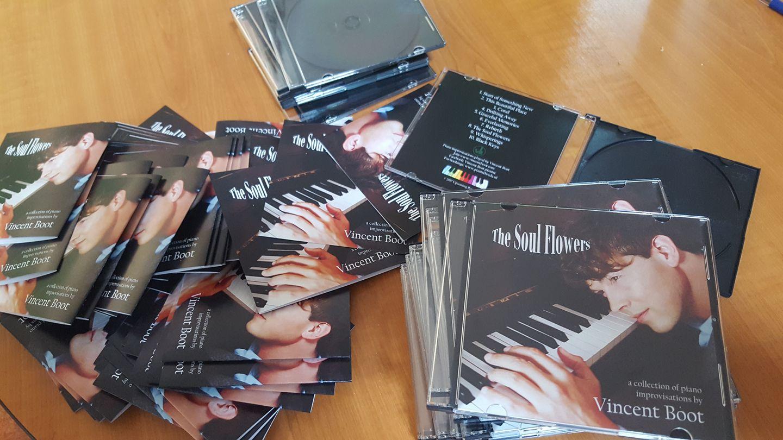 Vincent Boot The Soul Flowers piano album